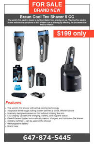 Braun Cool Tec Shaver - $199 only