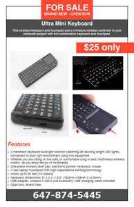 Ultra Mini Keyboard Remote - $25 only