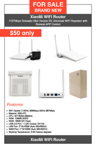XiaoMi WIFI Router - English version - $50 only