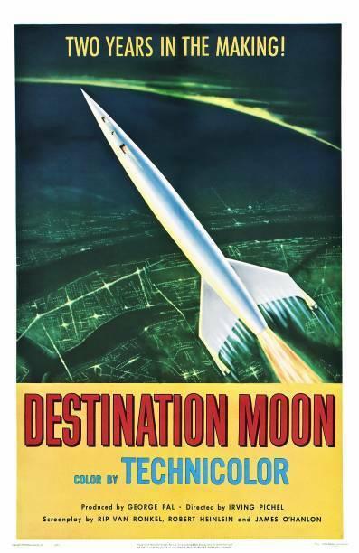 Destination Moon Poster Us 1950 OLD MOVIE PHOTO