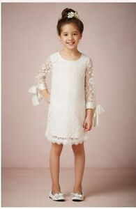 BHLDN FLOWERGIRL DRESS SIZE 8