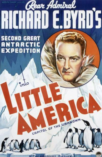 Old Movie Into Little America Poster Richard E Byrd 1935