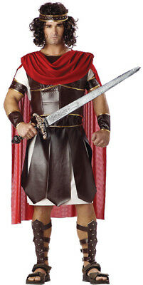 Roman Solider / Centurion 9 Pc Tunic Vinyl Armor W/ Cape Leg Guards Arm Bands  ](Roman Solider Costume)