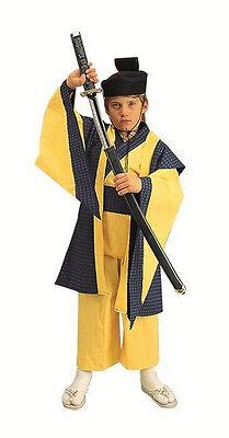 Samurai Child Costume RG Costumes Halloween Sz S 4-6 Cosplay Japanese Kimono](Baby Samurai Costume)