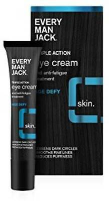 Anti Aging Best Men Eye Cream For Dark Under Circles Bags, Wrinkle AND (Best Skin Care Line For Combination Skin)