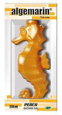 Algemarin Duschgel Pfirsichduft Form Seepferd Geschenkverpackung 01x250ml