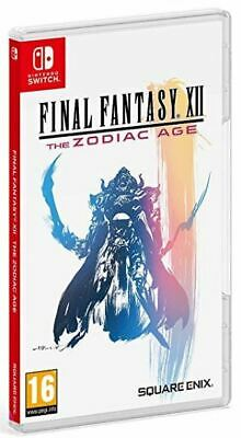 Final Fantasy XII The Zodiac Age (Switch)  BRAND NEW AND SEALED - IMPORT