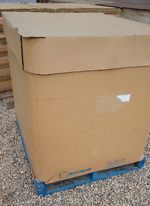 Used SpaceKraft Cardboard totes