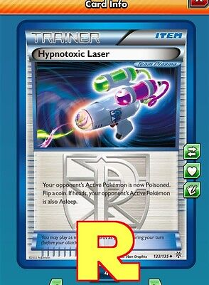 Hypnotoxic Laser -  for Pokemon TCG Online (DIGITAL ptcgo in Game Card) for sale  Shipping to South Africa