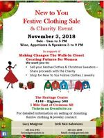 Clothing Designers Wanted for Charity Fashion Show & Sale!