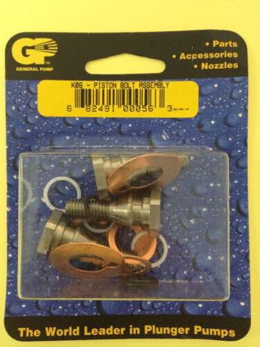 General Pump Piston Bolt Assembly Kit 6