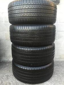 4 quality used P 265/50/19 Michelin Latitude Tour HP all season tires Installed and Balanced