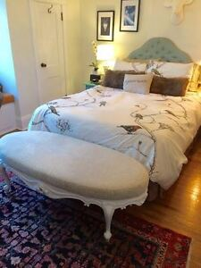 Vintage French Style Bench / Ottoman