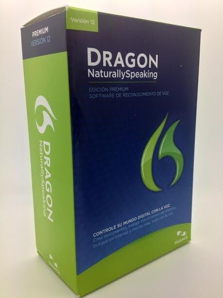 Dragon Naturally Speaking 12 Premium SPANISH and ENGLISH Full Retail Brand New