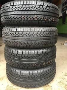 4 quality used P 205/60/15 Pirelli P6 all season tires Installed and Balanced