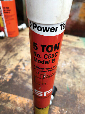 Power Team C59c- 5 Ton 9 Stroke Hydraulic Cylinder