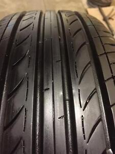 Sets of quality used P 195/65/15 all season tires INSTALLED and BALANCED from $299