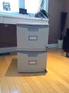 Storex 2-Drawer Mobile Filing Cabinets