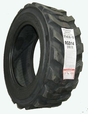 Power King 27x8.50-15 Lrd Skid Loader Tractor R4 Tire