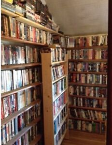 DVDS AND VHS
