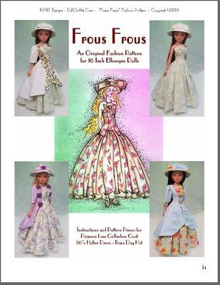 """Frous Frous"" an Original Fashion Pattern for Ellowyne"