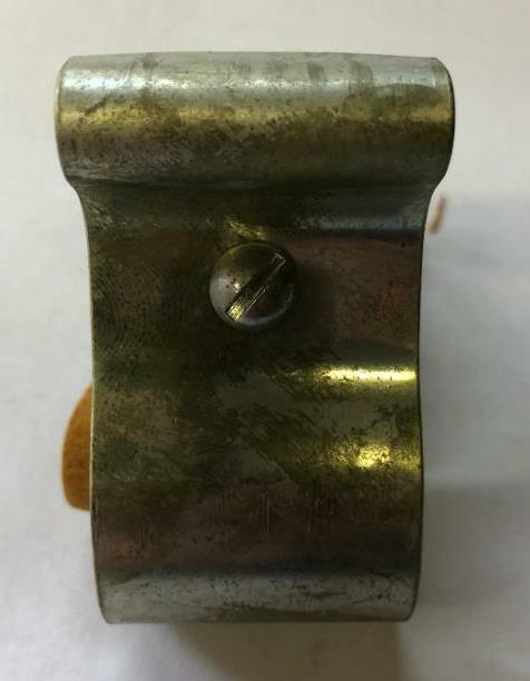 NOS vintage WALD bicycle LOCK HOLDER bracket for long shackle antique bikes