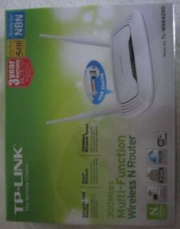 TP-Link 300Mbps Multi-Function Wireless N Router- Brand-new