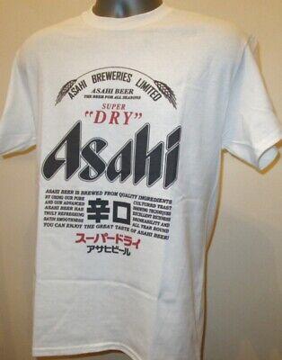 Asahi Super Dry T Shirt Japanese Beer Kirin Lager Suntory Sapporo Tokyo Asia 008