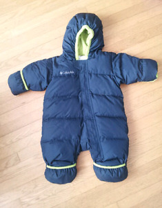 Columbia Down Filled Bunting Snowsuit 6 months