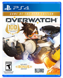 Selling Overwatch GOTY PS4