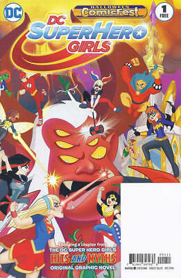 DC SUPER HERO GIRLS 1 HALLOWEEN COMICFEST DC AMERICAN COMIC  segunda mano  Embacar hacia Argentina