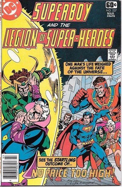Superboy Comic Book #237 DC Comics 1978 NEAR MINT