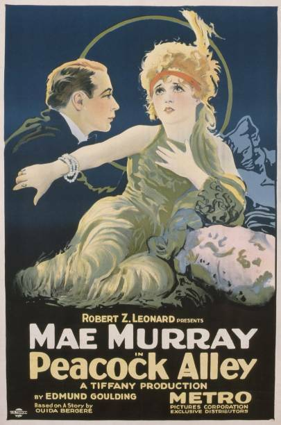 OLD MOVIE PHOTO Peacock Alley Poster Us Poster Monte Blue Mae Murray 1922