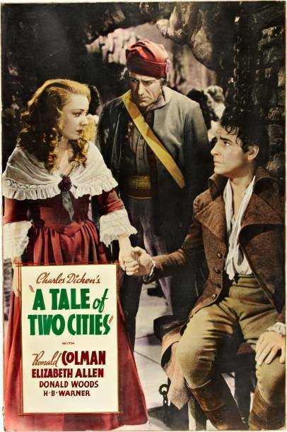 OLD MOVIE PHOTO Tale Of Two Cities Poster Isabel Jewell Ronald Colman