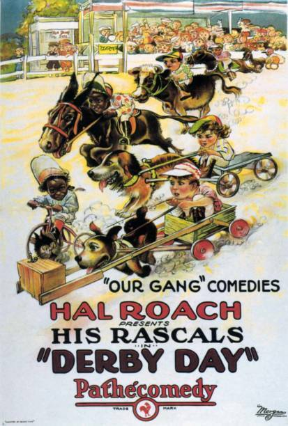 OLD MOVIE PHOTO Derby Day Poster 1923