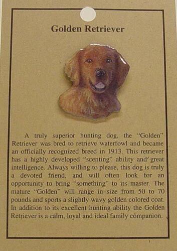 GOLDEN RETRIEVER DOG  HAT  PIN LAPEL PINS-LAB