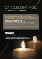 Candlelight Vigil of Hope & Remembrance