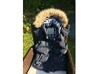 Jack Wills Gillet with furry hood