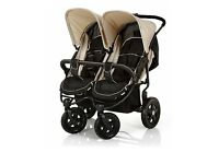 Hauk double buggy/stroller