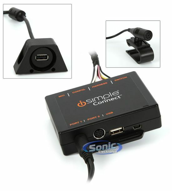 iSimple Connect ISHD651 Bluetooth/Smartphone Integration Kit for Acura/Honda