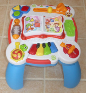 Leapfrog  Musical Table  English and French