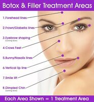 Cosmetic injections Botox/dermal fillers