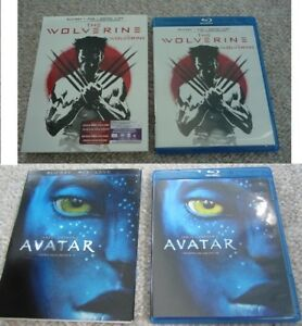 The Wolverine or Avatar - Blu-ray/DVD Combo - With Slipcovers
