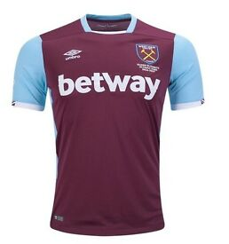 West Ham United home away football soccer jersey shirt