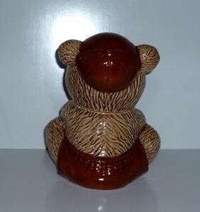 """Honey"" Bear Pot . Porcelain . Tongue is Spoon Cambridge Kitchener Area image 3"