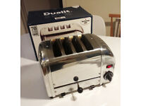 Dualit Classic 4 -Slot Toaster - Stainless Steel