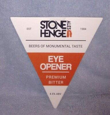 Stonehenge Eye Opener Pump Clip Front