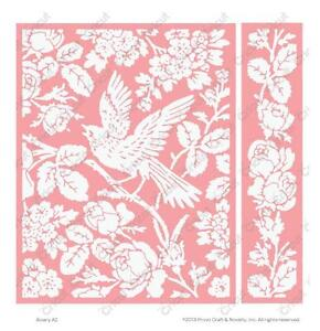 Cuttlebug A2 Embossing Folder&Border Set-Anna Griffin Aviary-$10