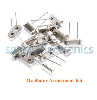 15pcs Values Crystal Oscillator Assortment 4-48mhz Kit Set Dip Diy New