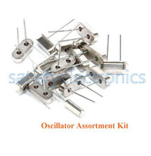 15 Values 15pcs HC-49S DIP Crystal Oscillator Kit Set